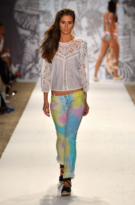 TRESemme At Agua Bendita - Mercedes-Benz Fashion Week Swim 2014 - Runway