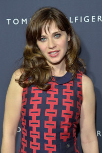 Zooey Deschanel For Tommy Hilfiger Collection Launch Event