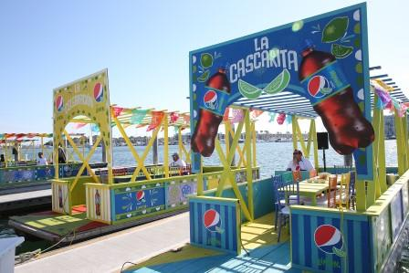 Pepsi Limon Fiesta Boats