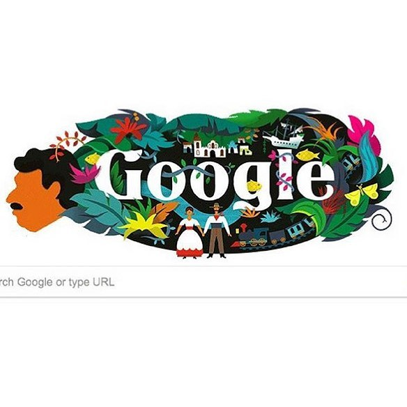 Gabriel Garcia Marquezs tribute today google x2764xfe0f made our day!hellip
