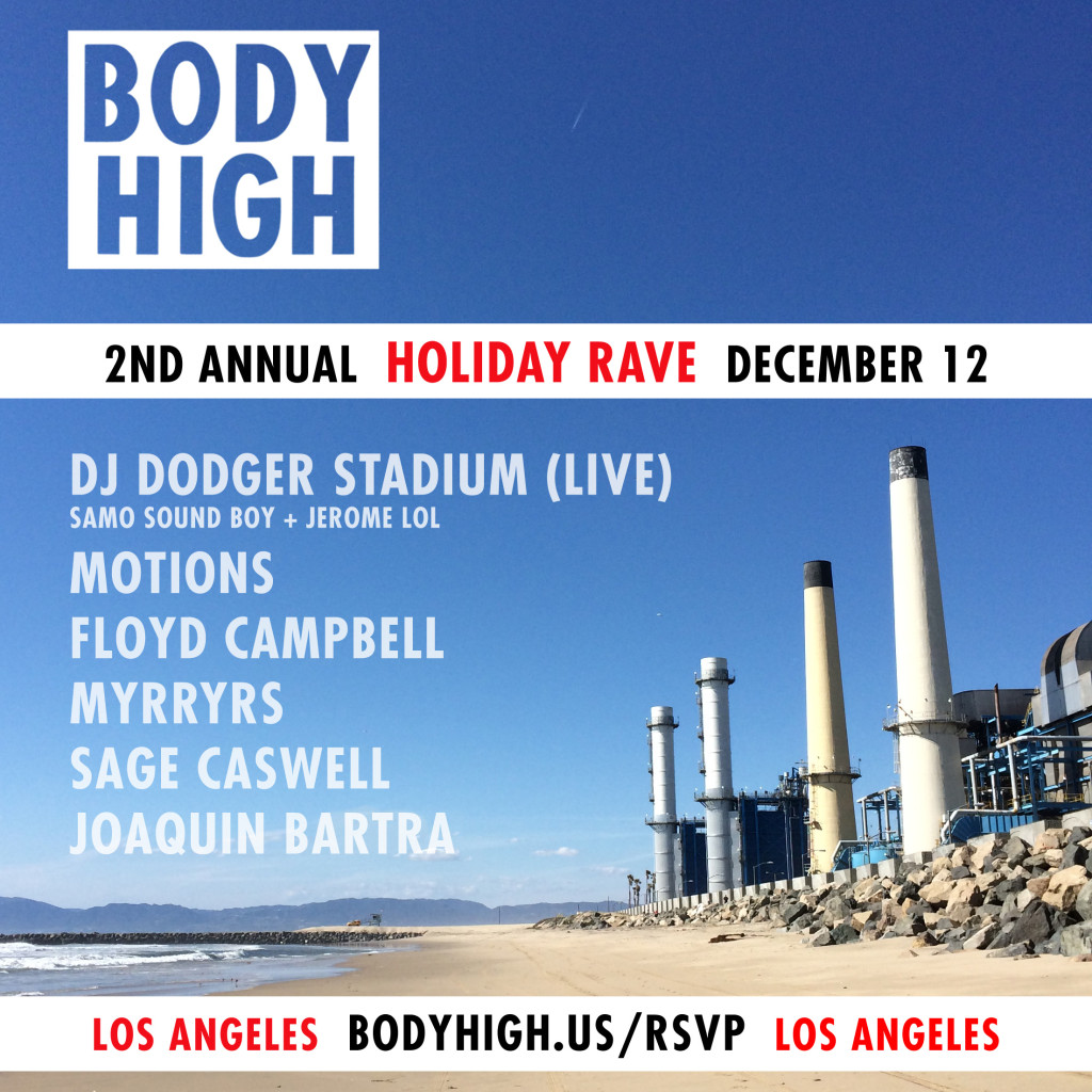 BH HOLIDAY RAVE LINEUP