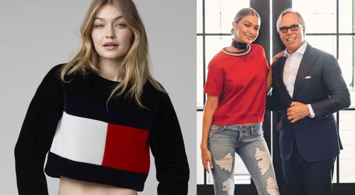 e501e19682cf74 TOMMY HILFIGER ANNOUNCES GIGI HADID AS GLOBAL BRAND AMBASSADOR FOR TOMMY  HILFIGER