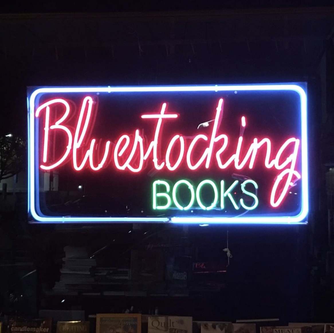 blue stocking book store